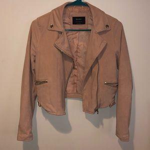 Pink Bershka blazer jacket